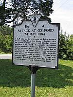 VA-EA4 Attack at Ox Ford 24 May 1864