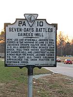 VA-PA10 Seven Days Battles Gainess Mill