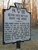 VA-PA105 Seven Days Battles Grape Vine Bridge