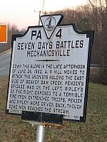 VA-PA4 Seven Days Battles Mechanicsville