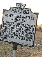 VA-PA60 Seven Days Battles Gainess Mill