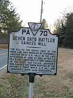 VA-PA70 Seven Days Battles Gainess Mill