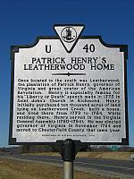 VA-U40 Patrick Henrys Leatherwood Home