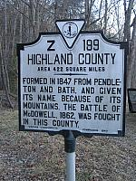 VA-Z199 Highland County