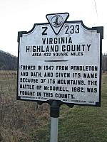 VA-Z233 Virginia Highland County