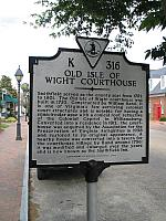 VA-K316 Old Isle of Wight Courthouse
