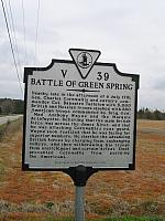 VA-V39 Battle of Green Spring