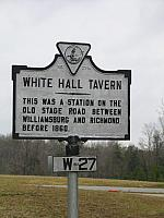VA-W27 White Hall Tavern