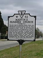 VA-W52 Martins Hundred Church