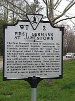 VA-WT2 First Germans at Jamestown