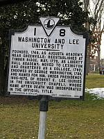 VA-I8 Washington and Lee University