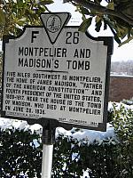 VA-F26 Montpelier and Madisons Tomb