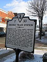 VA-F30 Orange Train Station