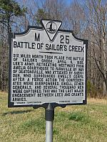 VA-M25 Battle of Sailors Creek