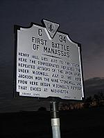 VA-C34 First Battle of Manassas