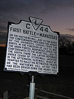 VA-C44 First Battle of Manassas