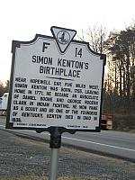 VA-F14 Simon Kentons Birthplace