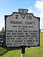 VA-Z216 Roanoke County