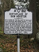 VA-A52 Birthplace of Sam Houston
