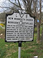 VA-L8 New Monmouth Church and Morrisons Birthplace