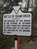 VA-A21 Battle of Cedar Creek