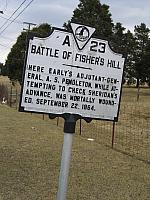 VA-A23 Battle of Fishers Hill