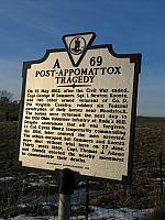 VA-A69 Post Appomattox Tragedy