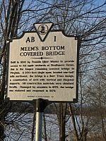VA-AB1 Meems Bottom Covered Bridge