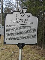VA-E36 Road to Guinea Station