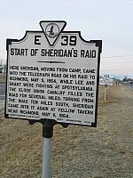 VA-E39 Start of Sheridans Raid