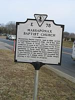 VA-E78 Massaponax Baptist Church