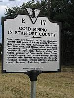 VA-E17 Gold Mining in Stafford County