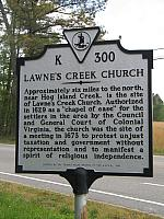 VA-K300 Lawnes Creek Church