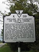VA-K319 English Settlement on Grays Creek