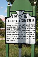 VA-UM18 History at Stony Creek