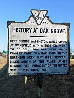 VA-J67 History at Oak Grove